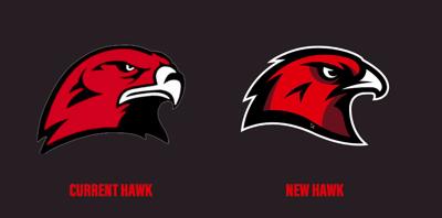 Bozeman High School hawk logo