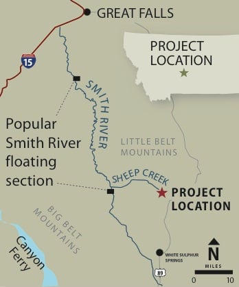 Smith River map