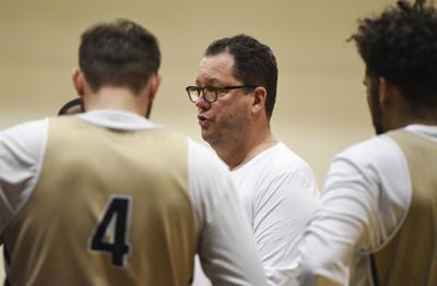 MSU Men's Basketball Practice