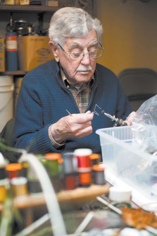 Sylvester Nemes ties one of his famous soft-hackled wet flies