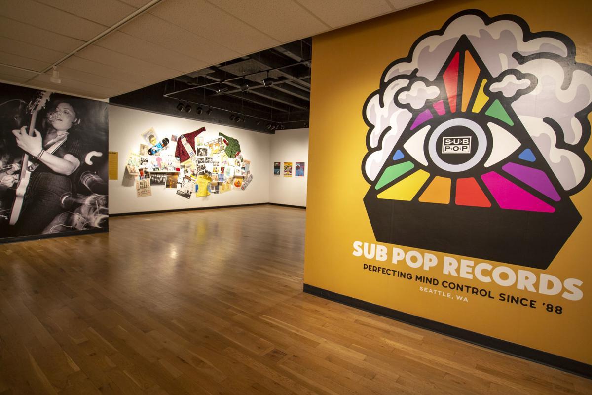 Sub Pop Records exhibit at MSU