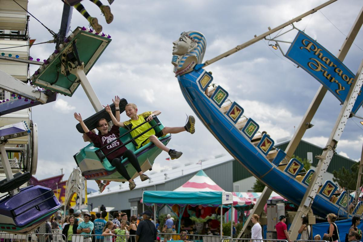Crowds Up at Gallatin County Fair (copy)