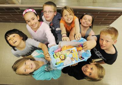 Third graders donate for Japan earthquake relief
