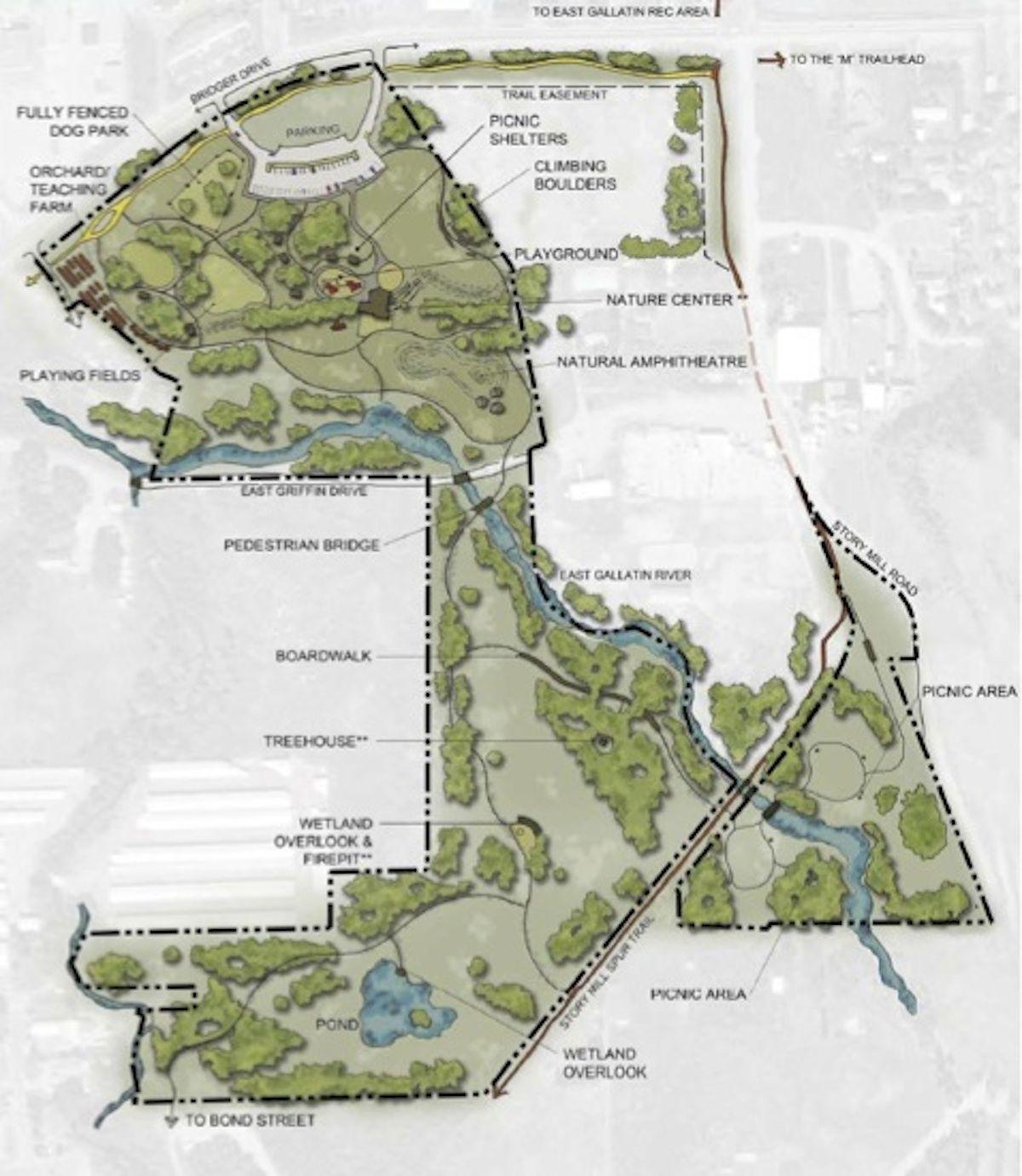 Bozeman set to approve land purchase for Story Mill Park
