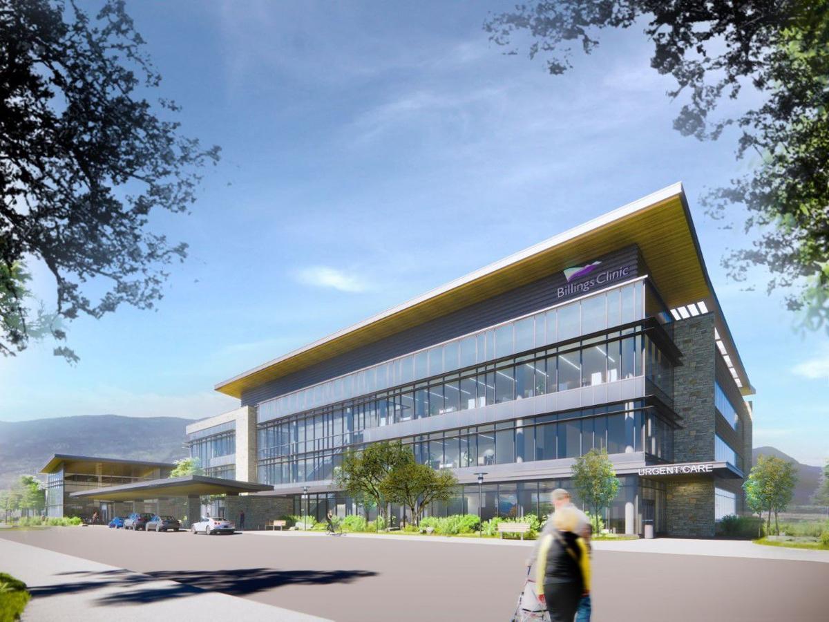 Billings Clinic Bozeman rendering