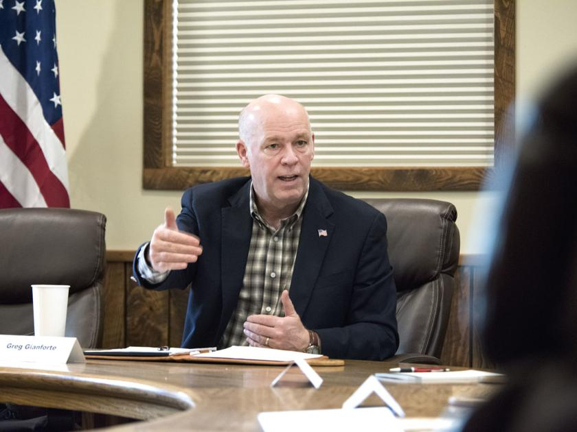 Gianforte(R) in MT (At-Large) is vastly out raising Democratic opponents. Make sure support is going downticket here as well.