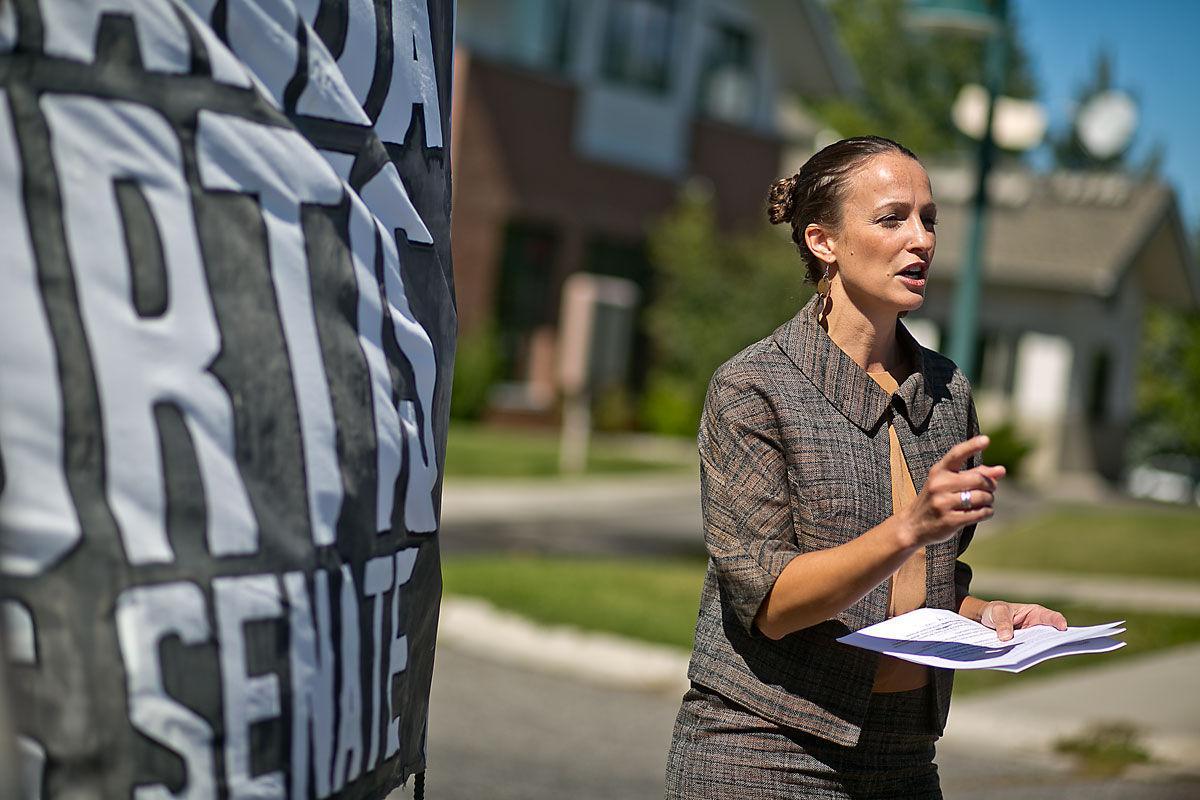 Senate Candidate Amanda Curtis Gives Jobs Speech