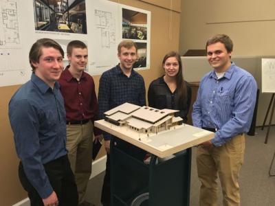 MSU architecture students