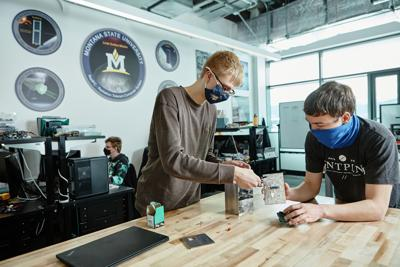 Brock LaMeres' Students Prepare a RadPC Lunar Payload