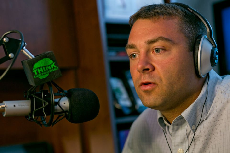 Podcast Host Pete Sveen