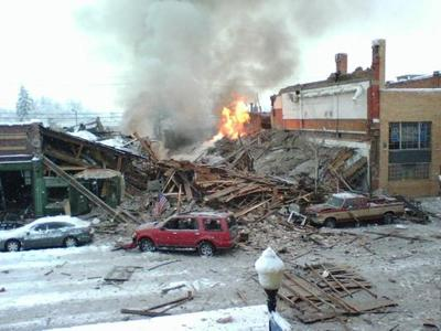 Downtown Rocked By Explosion
