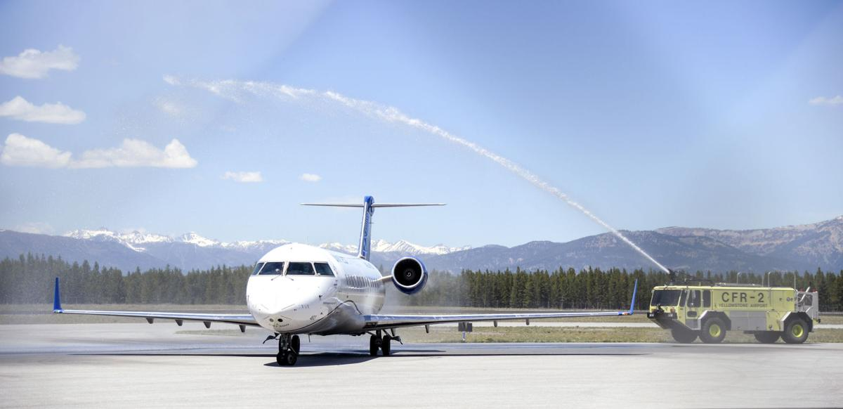 West Yellowstone Airport, New Flight