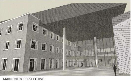 Bozeman High School No. 2 rendering