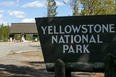 West Yellowstone Entrance Closed