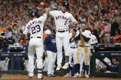 APTOPIX ALDS Rays Astros Baseball