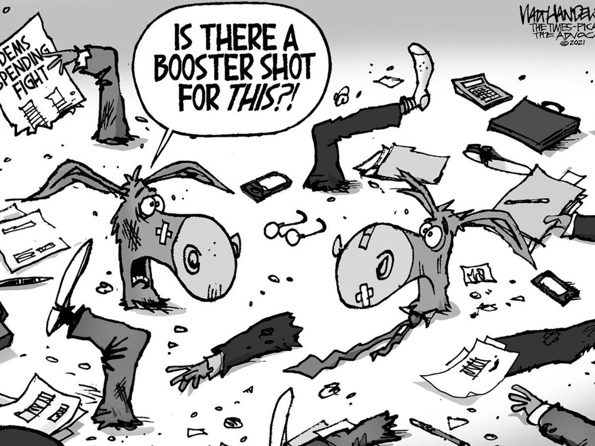Editorial cartoon for Sept. 23, 2021