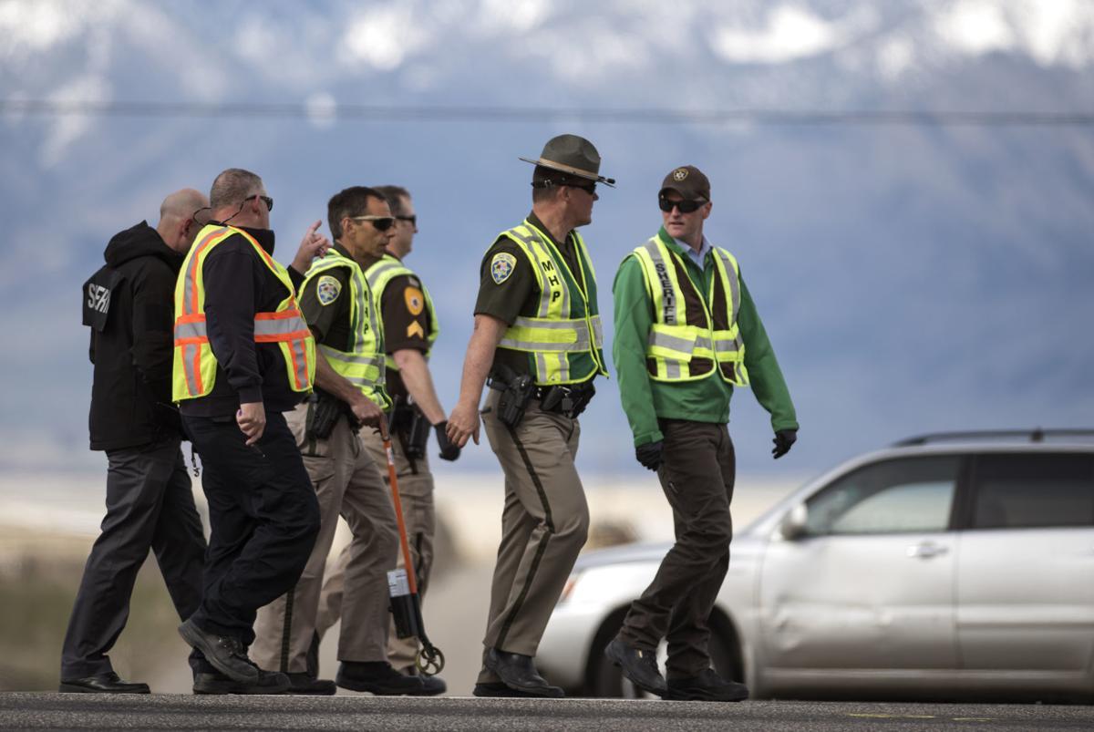 Pedestrian Hit on I-90