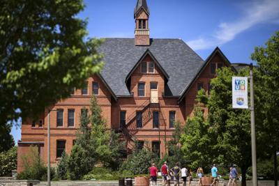 MSU campus / Romney Hall