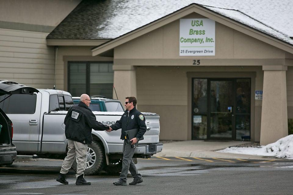 Federal agents raid USA Brass Company