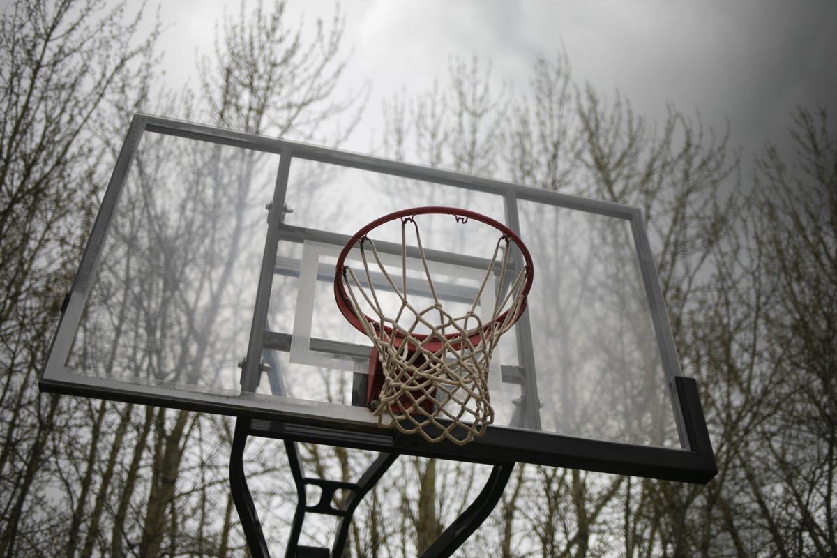 Bozeman Pond Basketball Hoop