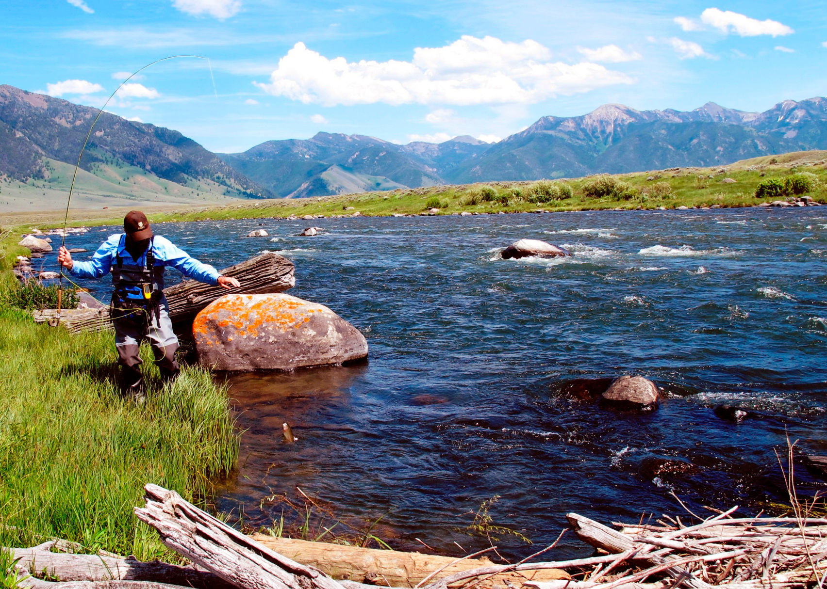 fwp releases report on madison river fishing pressure environment rh bozemandailychronicle com