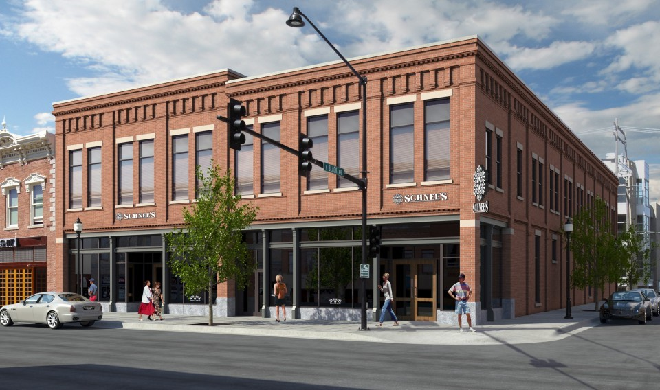 5cd02ac6a4720 Schnee's and Powder Horn to merge retail spaces in Story Block Building