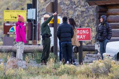 Yellowstone Park closed due to government shutdown