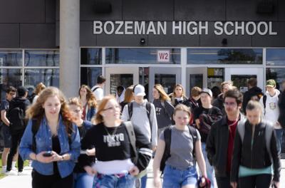 Test Scores, Bozeman High file