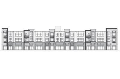 Rendering of Bozeman East Mixed-Use development