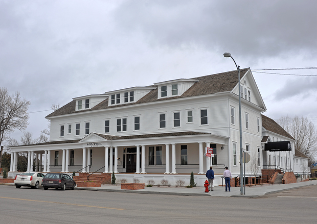 Closed Since September For Remodeling The Sacajawea Hotel In Three Forks Will Reopen Today