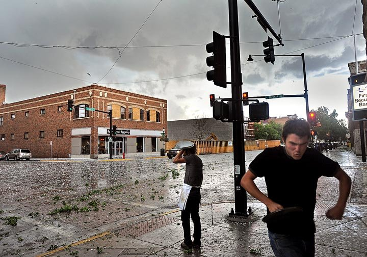 Large hailstorms strike Bozeman and the Gallatin Valley