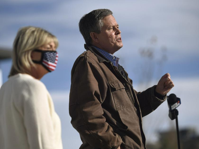 Daines campaigns in Bozeman ahead of Election Day