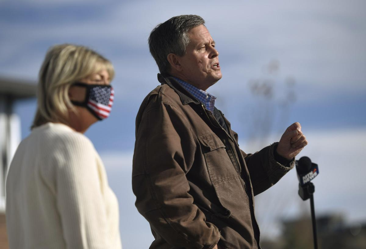 Steve Daines Campaign Rally