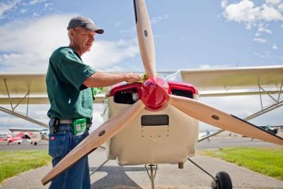 Antique airplane fly-in today in Three Forks | News