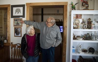 This week, West Yellowstone couple celebrates COVID-19 vaccination —and 68 years of marriage