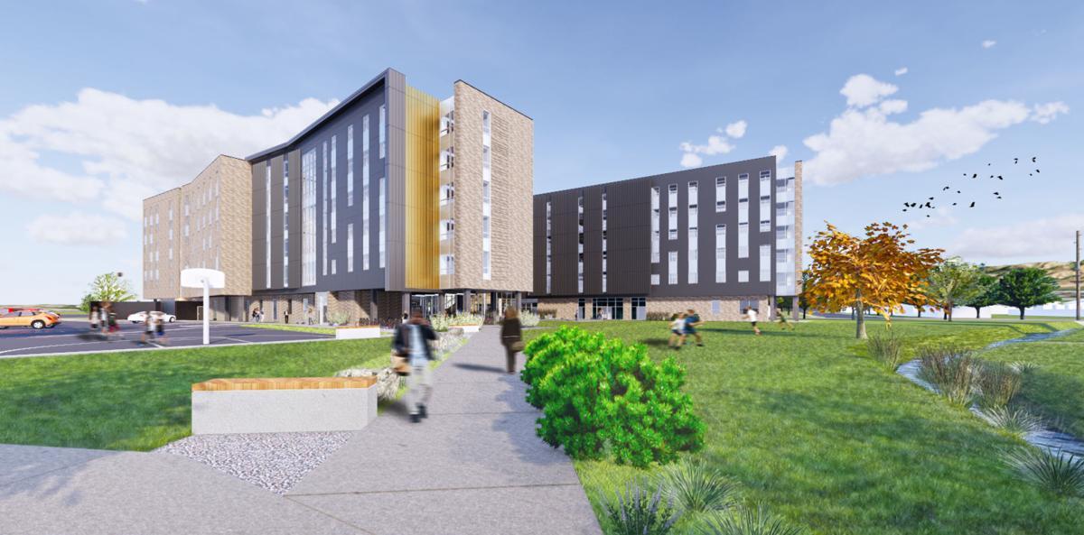 new msu dorm rendering