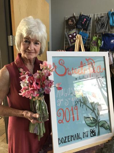 Sweet Pea volunteer finds joy painting kids' faces