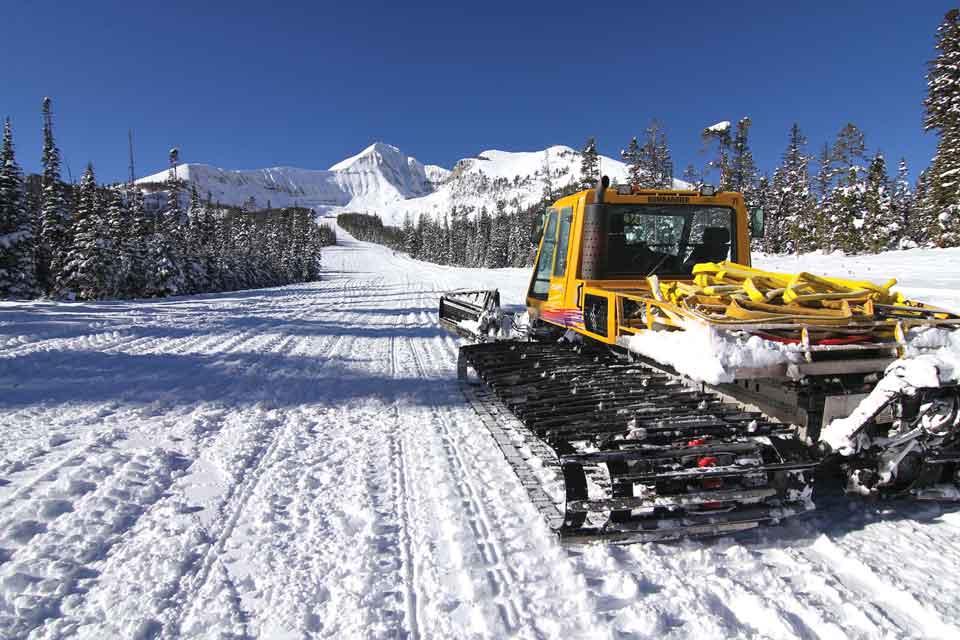 Big sky ski hill-5018