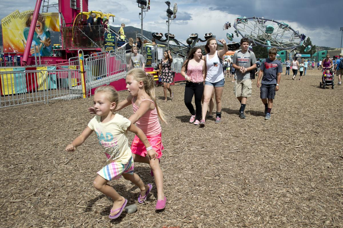 Crowds at the Gallatin County Fair (copy)