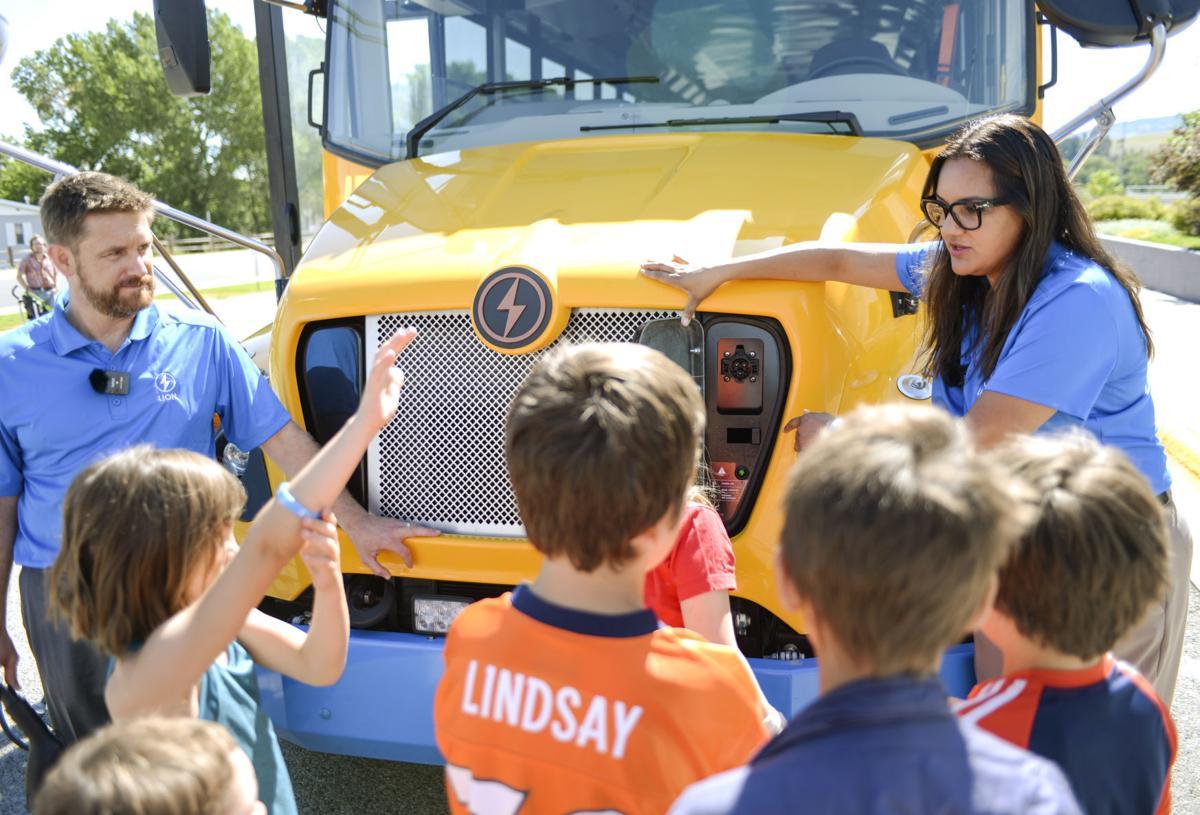 Lion Electric School Bus Demonstration