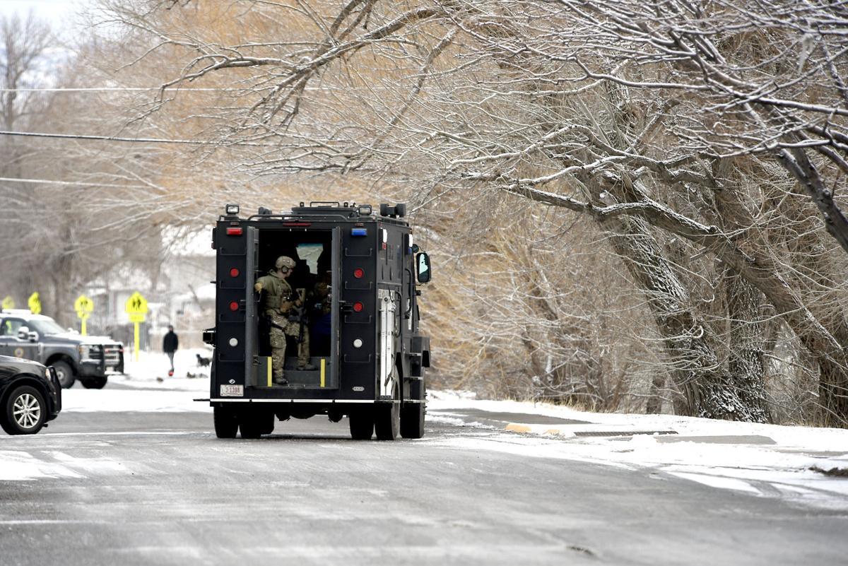 SWAT - Livingston standoff