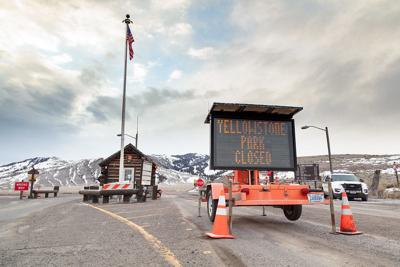 Yellowstone Closed