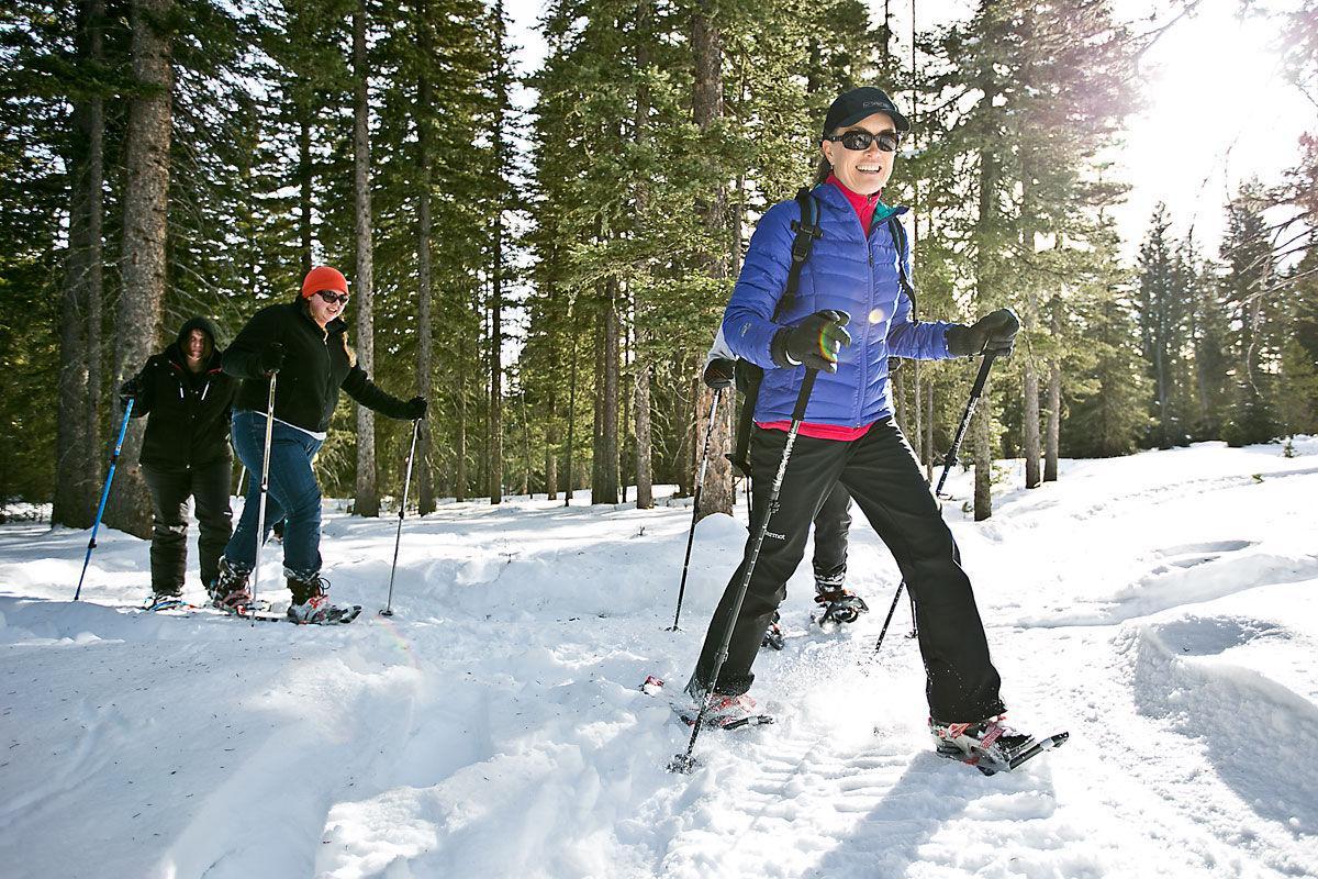 Bohart Ranch Snowshoeing