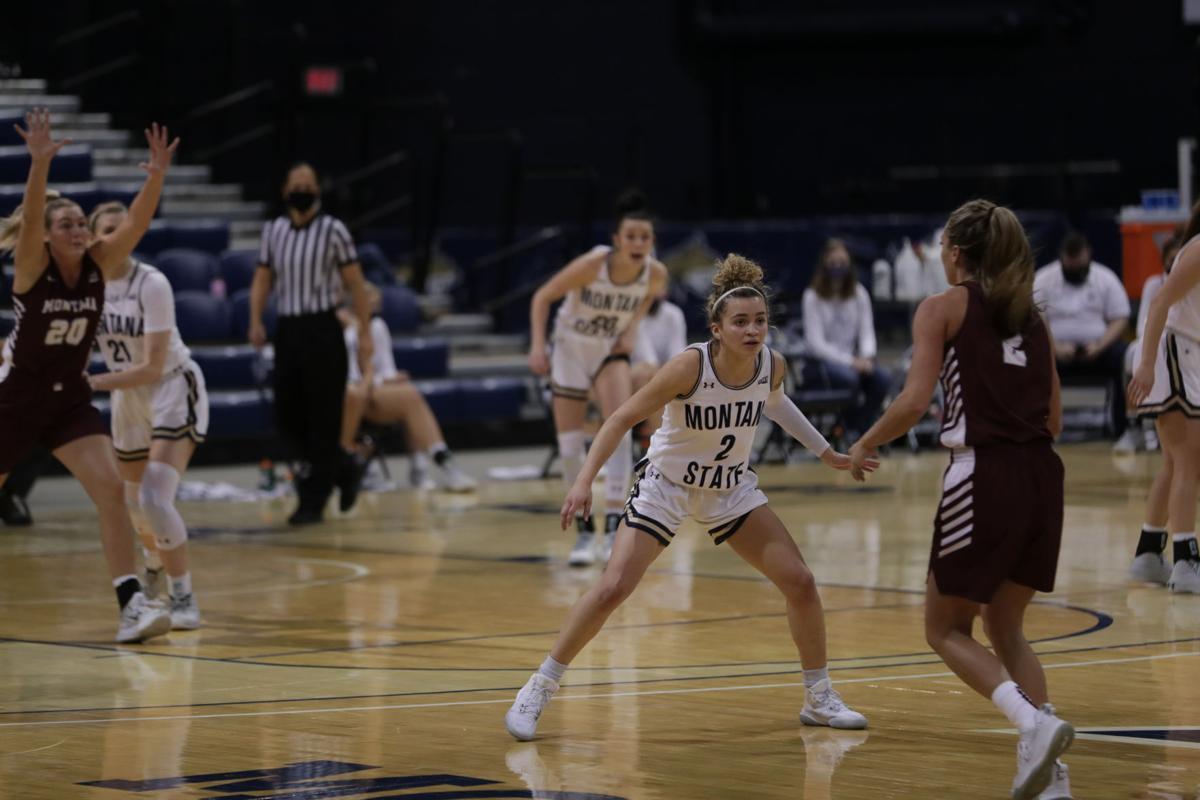 Montana State Bobcats women's basketball 5