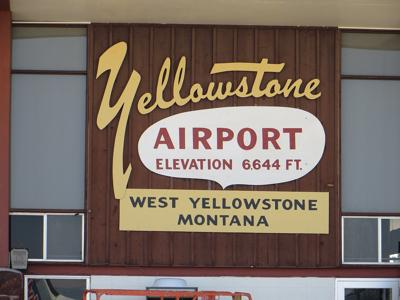 West Yellowstone airport
