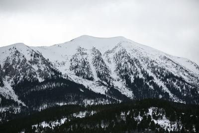 Mountains - snow pack