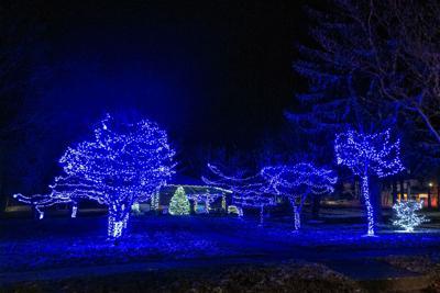 Nearly 30,000 lights illuminate Kane's Evergreen Park