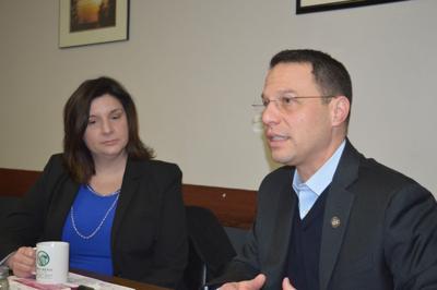 Shapiro discusses drug problem in McKean Co. visit