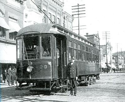 New book chronicles history of trolley service in region