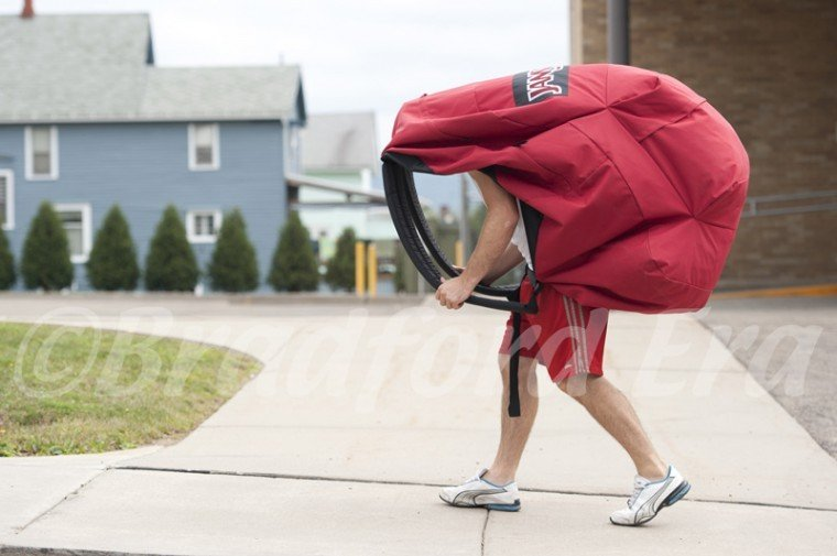Overloaded backpacks can lead to health problems